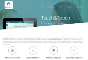 Teach & Touch nella Logopedia