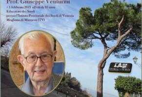La memoria di Giuseppe Venturini