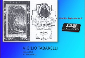 Tabarelli Vigilio – Mite pittore ed educatore sordo