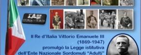Re Vittorio Emanuele III e Legge Ens 1942