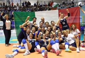 Volley Femminile sorde, italiane campionesse d'Europa
