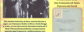 """""""Educare i sordomuti"""" secondo don Andrea Volontè"""