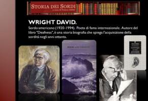 Wright David. Il poeta sordo inglese