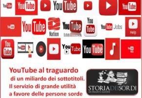 YouTube ha 1 mld di video sottotitolati, aiuto a non udenti