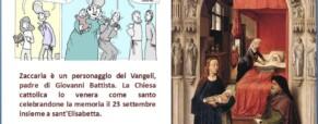 Zaccaria e la storia dei sordi.