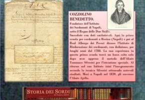 Cozzolino Benedetto (Newsletter della Storia dei Sordi n.177 del 6 febbraio 2007)