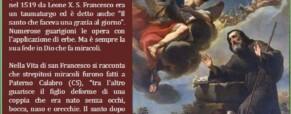 San Francesco di Paola nel mondo dei sordi