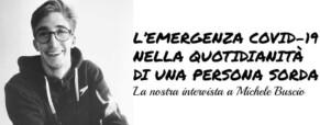 Michele Buscio. L'intervista