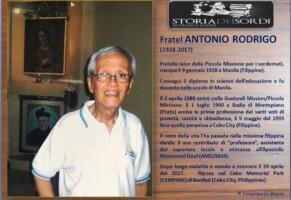 Fratel Antonio Rodrigo (1928-2017)
