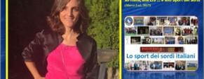 Vanessa Migliosi: una Sorda che fa onore all'Italia, alla LIS … e allo Sport dei Sordi